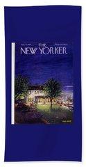 New Yorker August 13 1955 Bath Towel