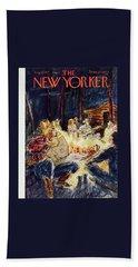 New Yorker August 3 1957 Bath Towel