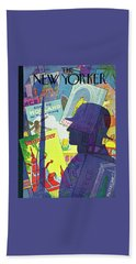 New Yorker August 9 1941 Bath Towel