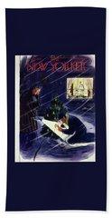 New Yorker December 18 1954 Bath Towel