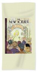 New Yorker December 4 1954 Bath Towel