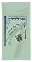 New Yorker February 1 1958 Bath Towel