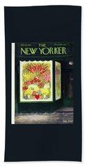 New Yorker February 14 1953 Bath Towel