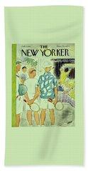 New Yorker February 9 1957 Bath Towel
