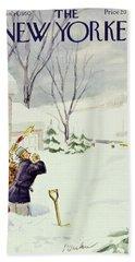 New Yorker January 14 1950 Bath Towel