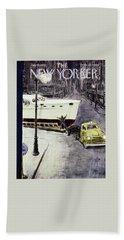New Yorker January 14 1956 Bath Towel