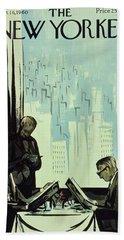 New Yorker January 16 1960 Bath Towel