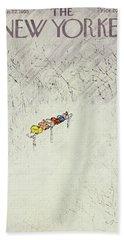 New Yorker January 22 1955 Bath Towel