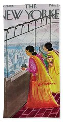 New Yorker July 22 1961 Bath Towel