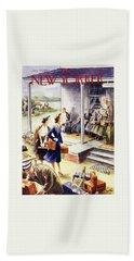 New Yorker July 24 1954 Bath Towel