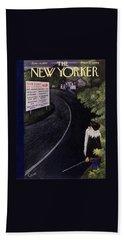New Yorker June 14 1952 Bath Towel