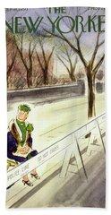 New Yorker March 18 1950 Bath Towel