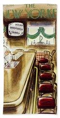 New Yorker March 19, 1955 Bath Towel