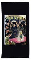 New Yorker March 7 1953 Bath Towel