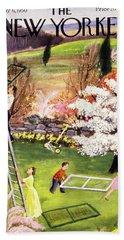 New Yorker May 6 1950 Bath Towel