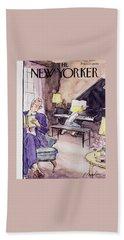 New Yorker November 12 1955 Bath Towel