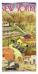 New Yorker November 28 1953 Bath Towel