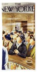New Yorker November 5 1949 Bath Towel