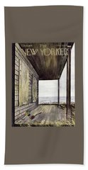 New Yorker October 23 1954 Bath Towel