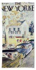 New Yorker October 26th 1957 Bath Towel