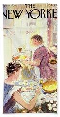 New Yorker September 18 1954 Bath Towel