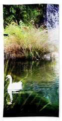 New Zealand Swan Hand Towel
