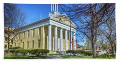 Newburgh Courthouse On Grand Street 1 Hand Towel
