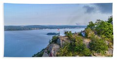 Newburgh From Breakneck Ridge Bath Towel