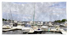 Newburyport Harbor Nhwc Bath Towel