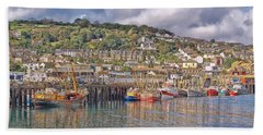 Newlyn Harbour Cornwall 2 Hand Towel