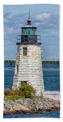 Newport Harbor Lighthouse Bath Towel