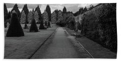 Newstead Abbey Country Garden Gravel Path Bath Towel