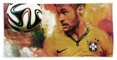 Neymar 05d Hand Towel by Gull G
