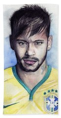 Neymar Bath Towel