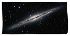 Ngc 891, An Edge-on Spiral Galaxy Hand Towel