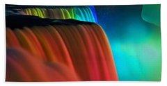 Niagara Falls At Night Bath Towel