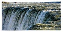 Niagara Falls In Autumn Bath Towel