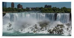 Bath Towel featuring the photograph Niagara Falls, New York by Brenda Jacobs