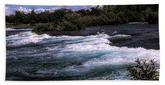 Niagara River Rapids Bath Towel