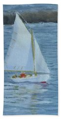 Nice Day For A Sail Hand Towel