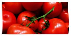 Bath Towel featuring the photograph Nice Tomatoes Baby by RC DeWinter