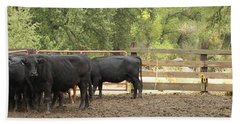 Nick Shipping Cattle Hand Towel