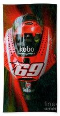 Nicky Hayden's Motogp Ducati Bath Towel