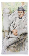 Nicolo Minca. 1908 Hand Towel