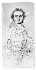 Nicolo Paganini (1782-1840) Hand Towel