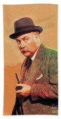 Nigel Bruce, Vintage Actor Bath Towel
