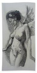 Night Angel Bath Towel