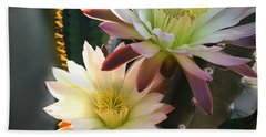 Bath Towel featuring the photograph Night-blooming Cereus 3 by Marilyn Smith