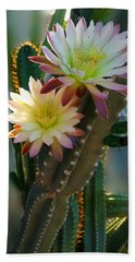 Bath Towel featuring the photograph Night-blooming Cereus 4 by Marilyn Smith