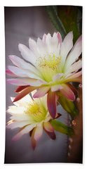 Bath Towel featuring the photograph Night Blooming Cereus by Marilyn Smith